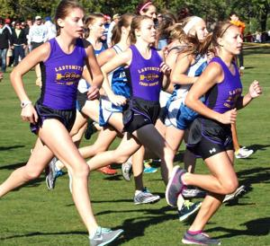 Ladysmith Cross Country Girls Varsity team performed well at the Bill Smiley Invitational
