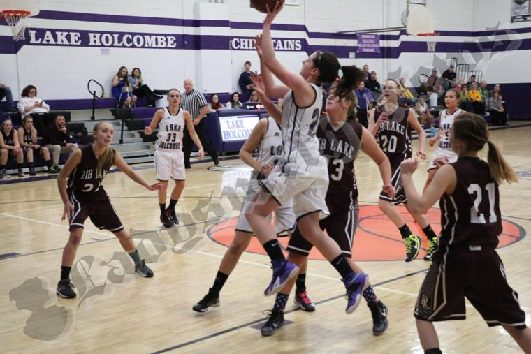 rib lake girls Holcombe — it wasn't pretty by any means, but the lake holcombe girls basketball team will be advancing in the wiaa division 5 playoffs.
