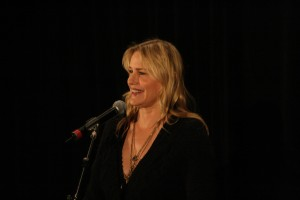 Actress promoting environmental consciousness addresses campus