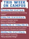 This week on campus: arts and culture in L.A.