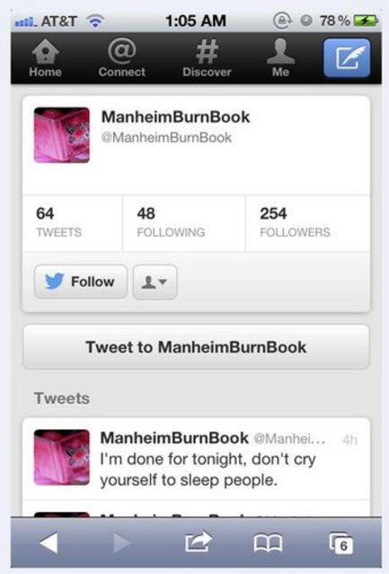Led Screen Burn Rumor That 'burn Book' Led