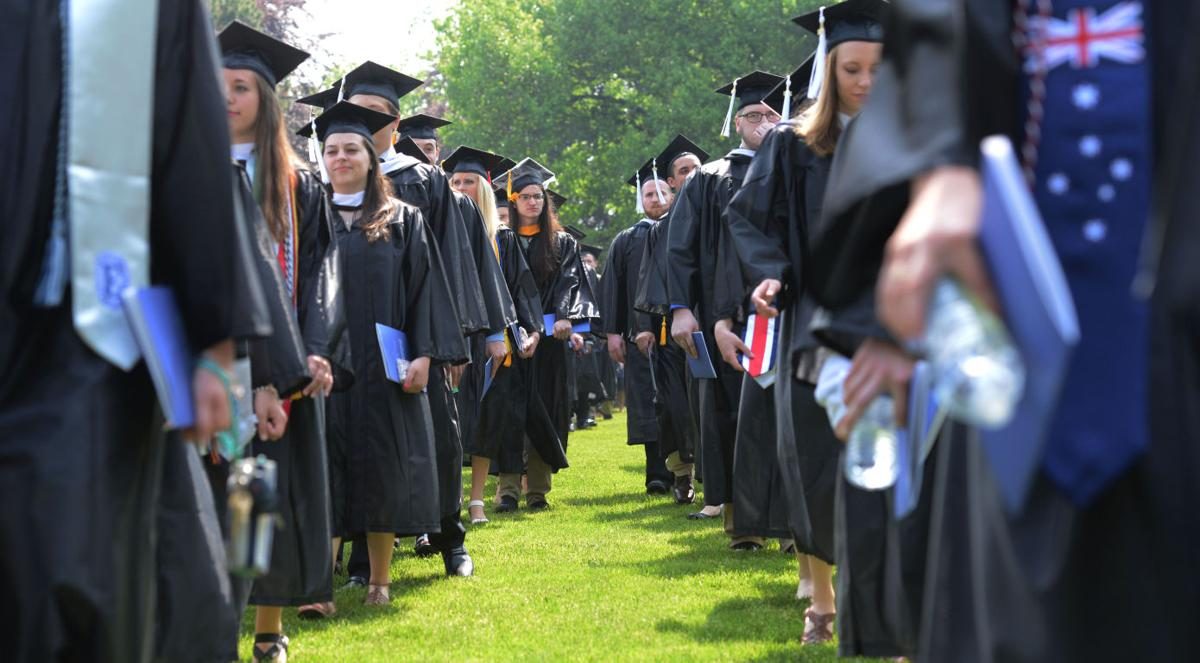 graduate from elizabethtown college news com elizabethtown college commencement 2015 3