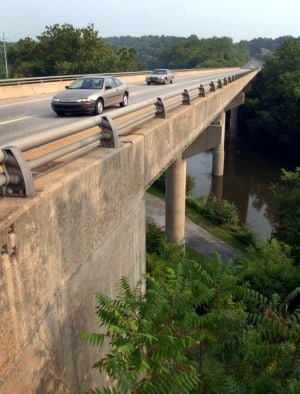 Route 222 bridges at Engleside getting 7 months of repairs, lane limits