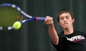 BOYS' TENNIS: Fortna wins district crown