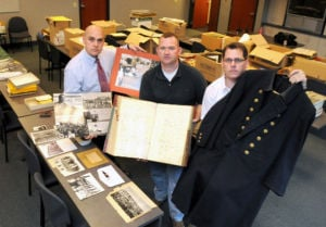 Arresting collection: Police officers hope to open museum