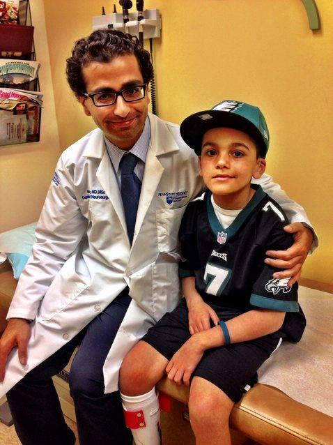 Hempfield boy who underwent emergency brain surgery gets a ...