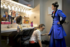 Students produce 'Mary Poppins' in Fulton shadowing program