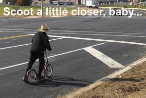 Valentine scooter