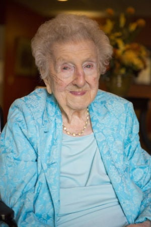 At age 106, she's a Lancastrian through and through