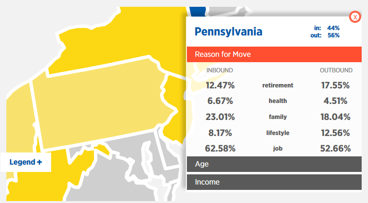an analysis of people in pennsylvania Pennsylvania ranks behind georgia and idaho for the highest number of its   people locked up on violations of parole or probation account for.
