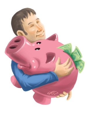 Do you and your piggy bank need relationship counseling?