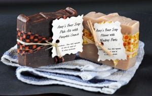 Beer soaps from Union Barrel Works