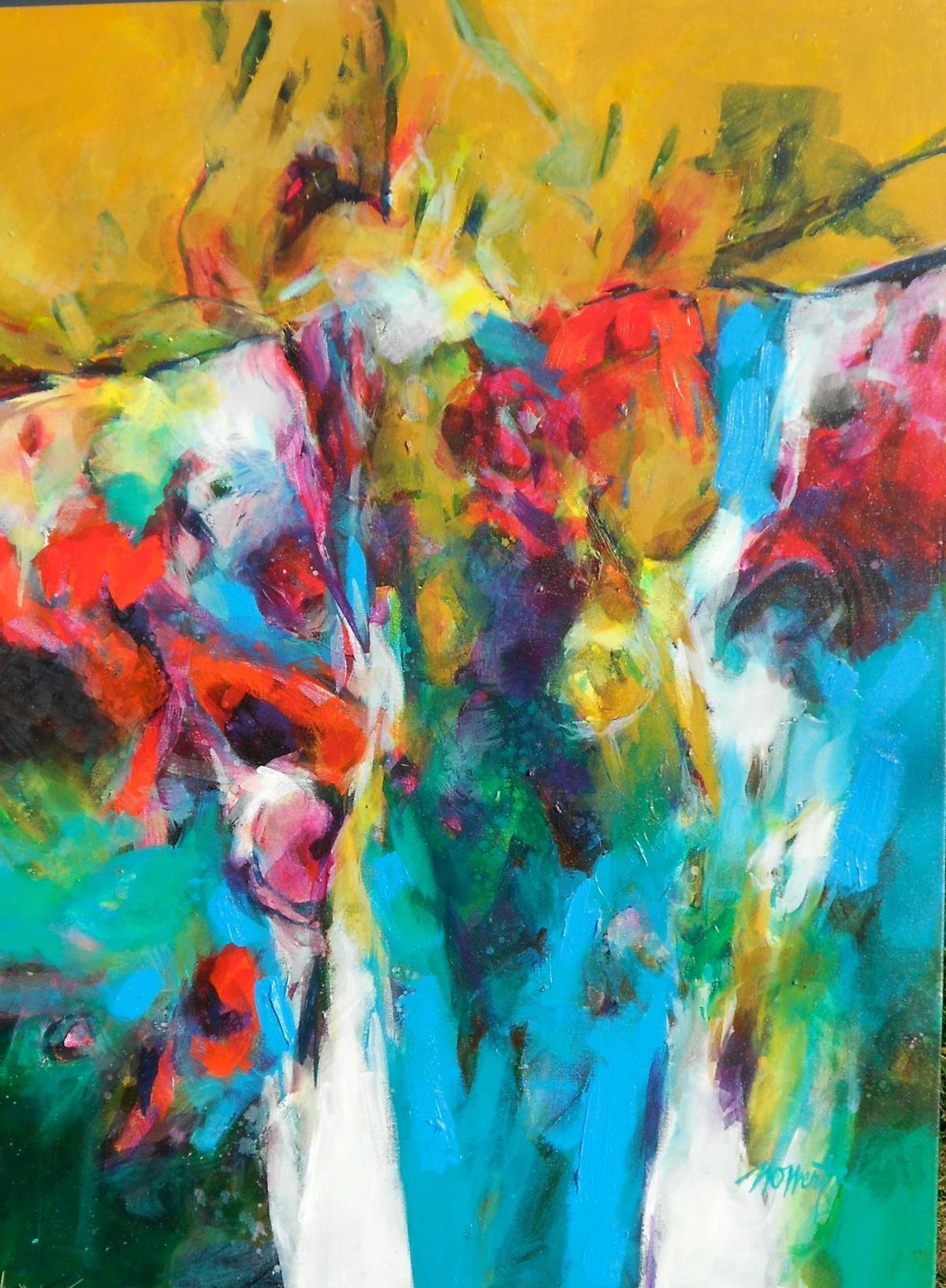Wert lehman open colorful show at arts hotel art for Penn state lehman craft fair 2017