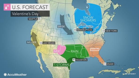 Valentine 39 s day forecast in lancaster county high in mid for Fishing forecast accuweather