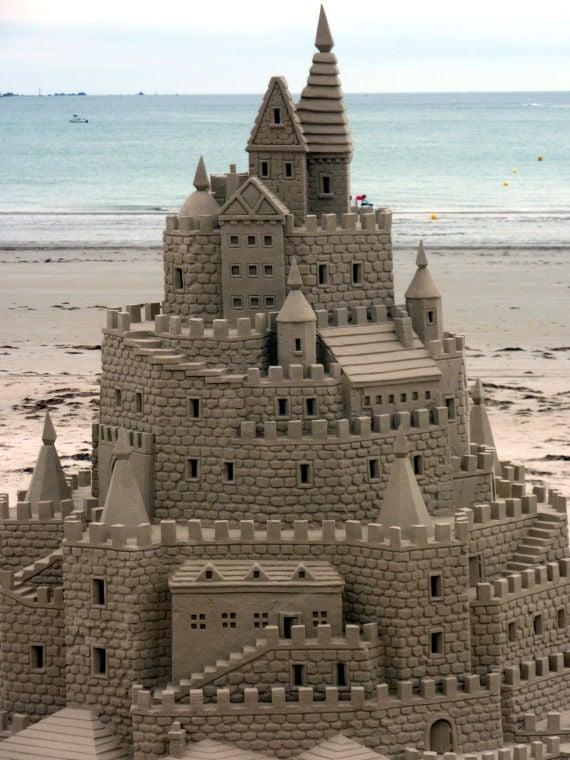 Building Sand Castles : Tips building a sand castle lifestyle