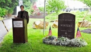 WWII hero Dick Winters lauded as trail dedicated