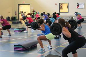 weightlifting at YMCA