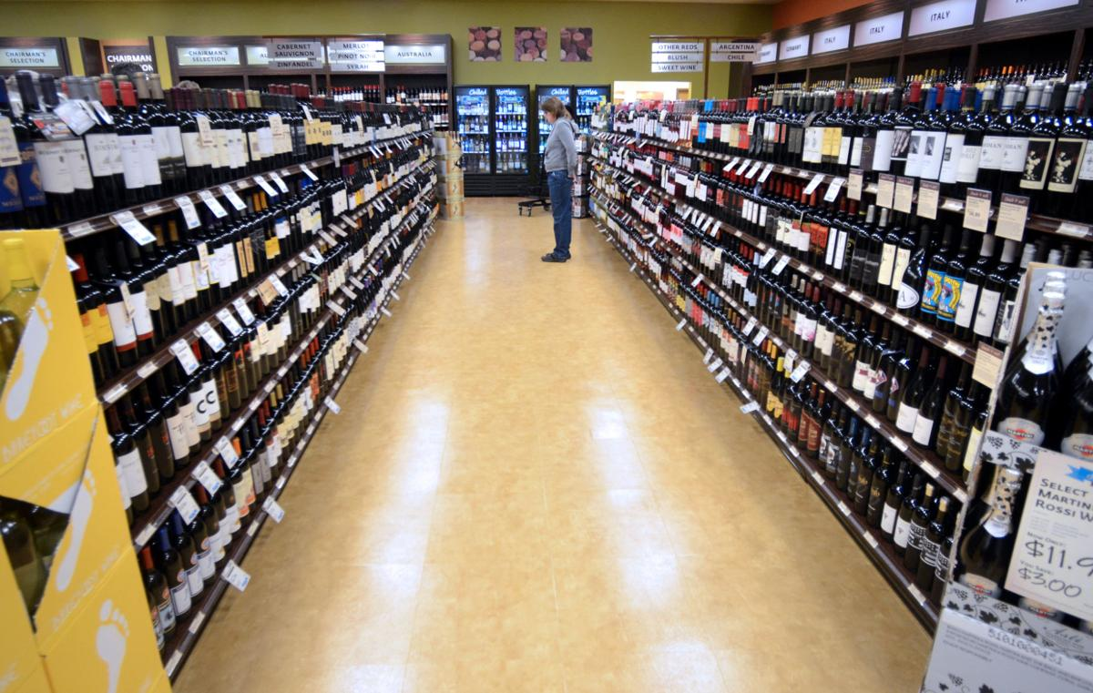 Online liquor shop