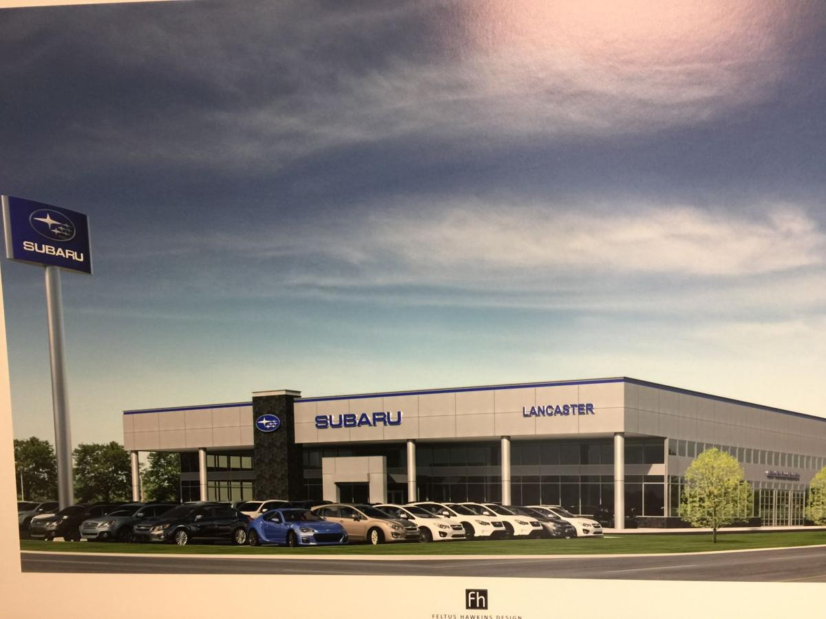 Construction of subaru dealership s new 6m store starts for Lancaster county motors subaru