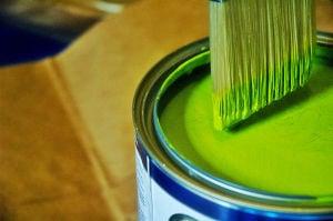 bright paint