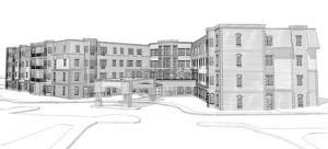 Firm plans to build four-story apartment building for seniors at Doneckers site in Ephrata