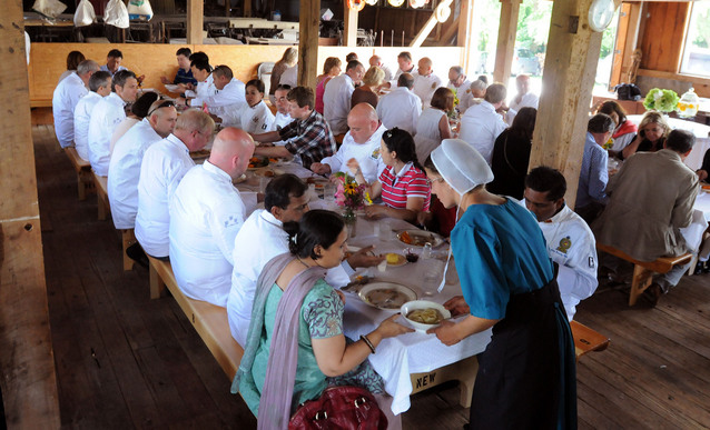 amish the plain people Well, farm-to-table, diy, local food is not a trend for plain people—it's their way of life small-plot, hand-tilled family farms they're the backbone of many amish and mennonite communities diy fresh jams, jellies, pickles, and preserves those are staples in homes that typically lack refrigerators.