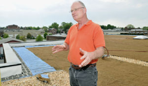 City's first green roof won't be last