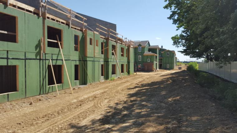 Brunswick Farms An Affordable Housing Complex In Manor Township Is Halfway