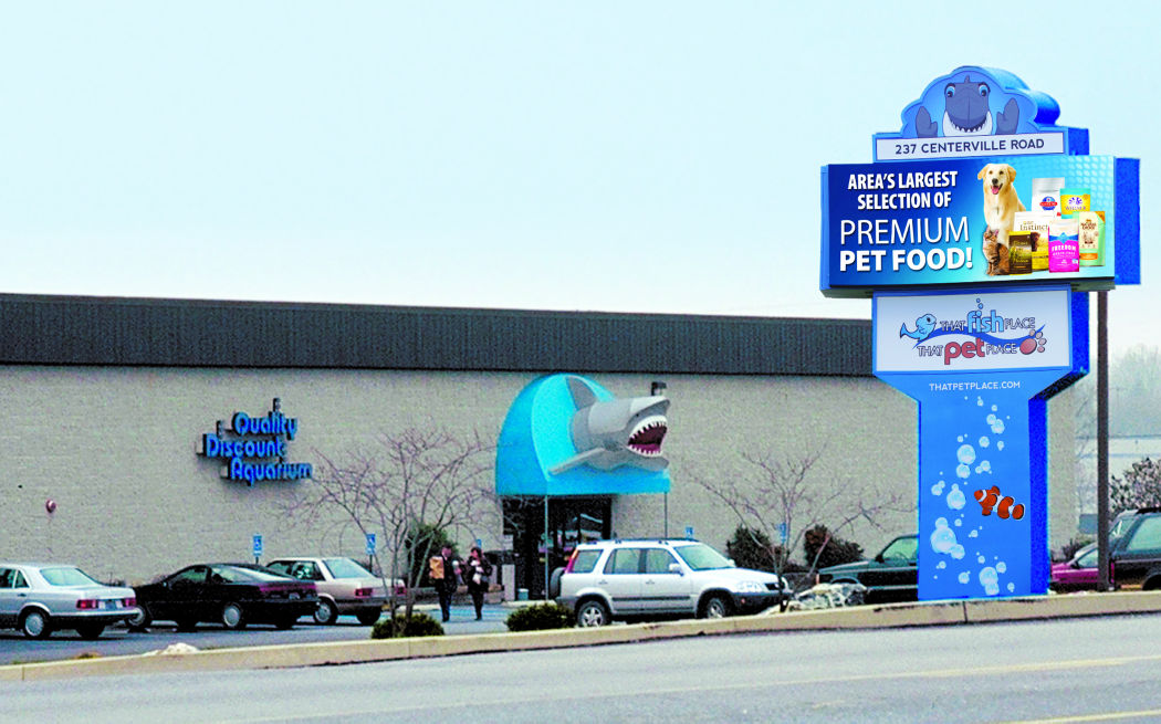 Favorite pet supply store that fish place that pet for Pet stores that sell fish