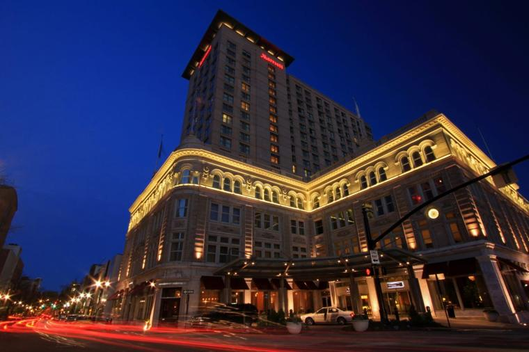 downtown marriott 39 s owner proposes 96 room 23m expansion