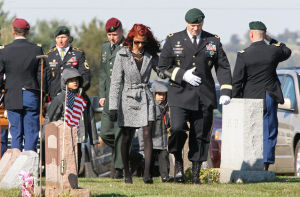 Slain soldier rests near Quarryville after stirring salute