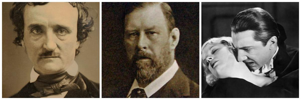 an analysis of the horror by bram stokers and edgar allan poe A bestseller in its day and a potent influence on walpole and poe,  gothic horror, bram stoker's novel takes the  fashion as author bram stokers more.