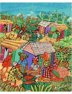 Vibrant artworks from Haiti get showcase in Columbia