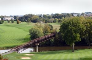 Lancaster Country Club bridge
