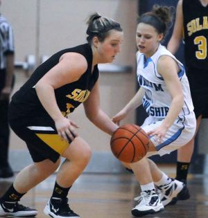 DISTRICT THREE GIRLS' BASKETBALL: Mares defeat Manheim Township