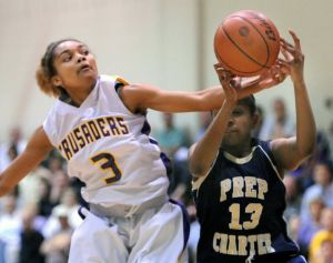 Boosted by a healthy Porscha Speller, Lancaster Catholic is ready for Wednesday night's state girls basketball rematch with Archbishop Wood