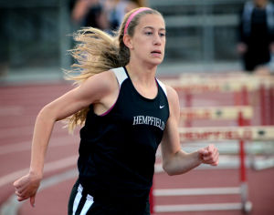 GIRLS' TRACK: Seventh heaven for Hempfield girls