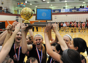 Hempfield girls' volleyball wins PIAA title