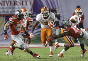 ORANGE BOWL: Clemson rallies, topples Ohio State, 40-35