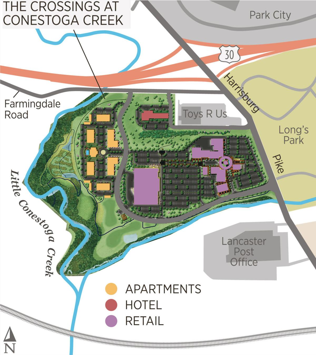After 4 years, plan advances for $100M of stores, hotel u0026 housing opposite Longu0026#39;s Park : Local ...