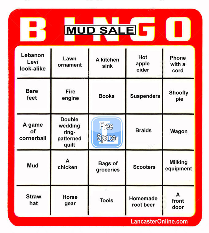 Mud sale survival guide: Boots, baked goods and bingo ...