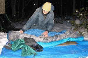 OUTDOORS: Two days and a night in the winter woods