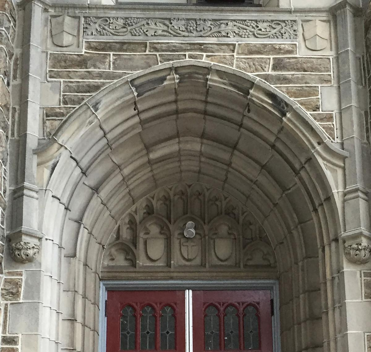 The Inside Track Lancaster Pa: Design Intervention: 'T' Is For Tympanum (and You'll Have