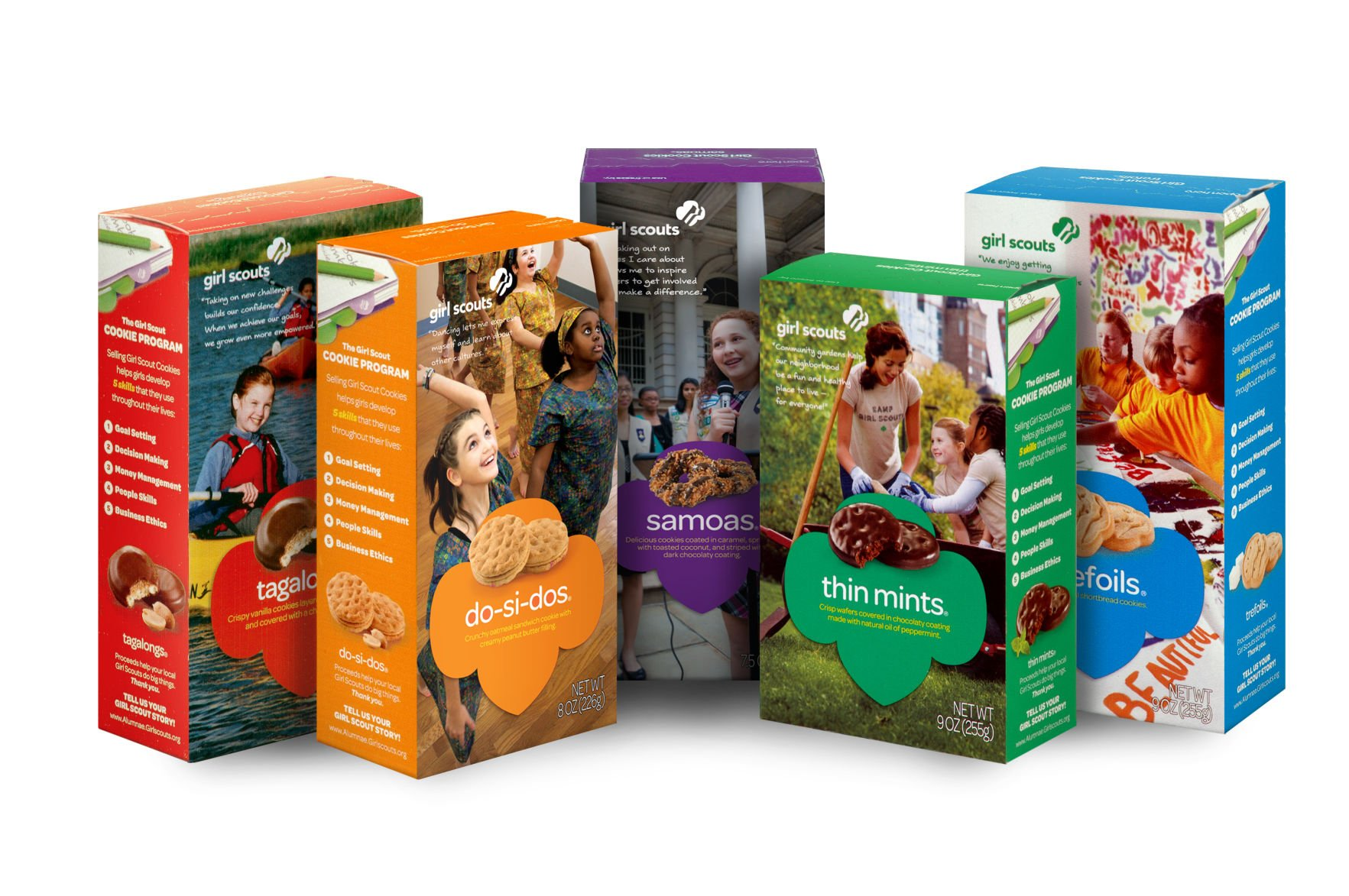 Girl Scouts celebrate 100th anniversary with new cookie