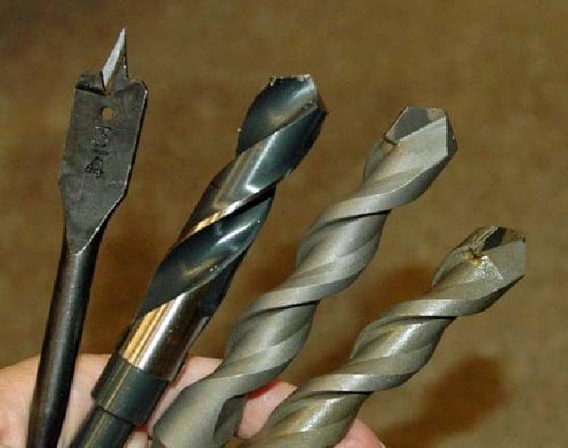 wood vs metal drill bit 2