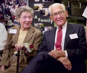 Elsie Shenk and Willis Shenk