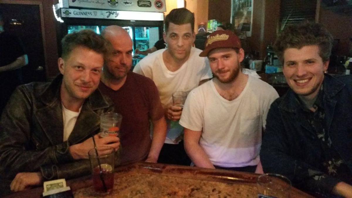Mumford Amp Sons Spotted In Lancaster Have Drink At Yorgos