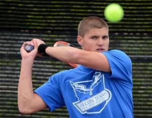 L-L LEAGUE TENNIS SINGLES CHAMPIONSHIPS: Fighting spirit