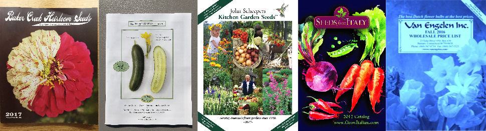 You voted Here are your favorite seed and garden catalogs of 2017