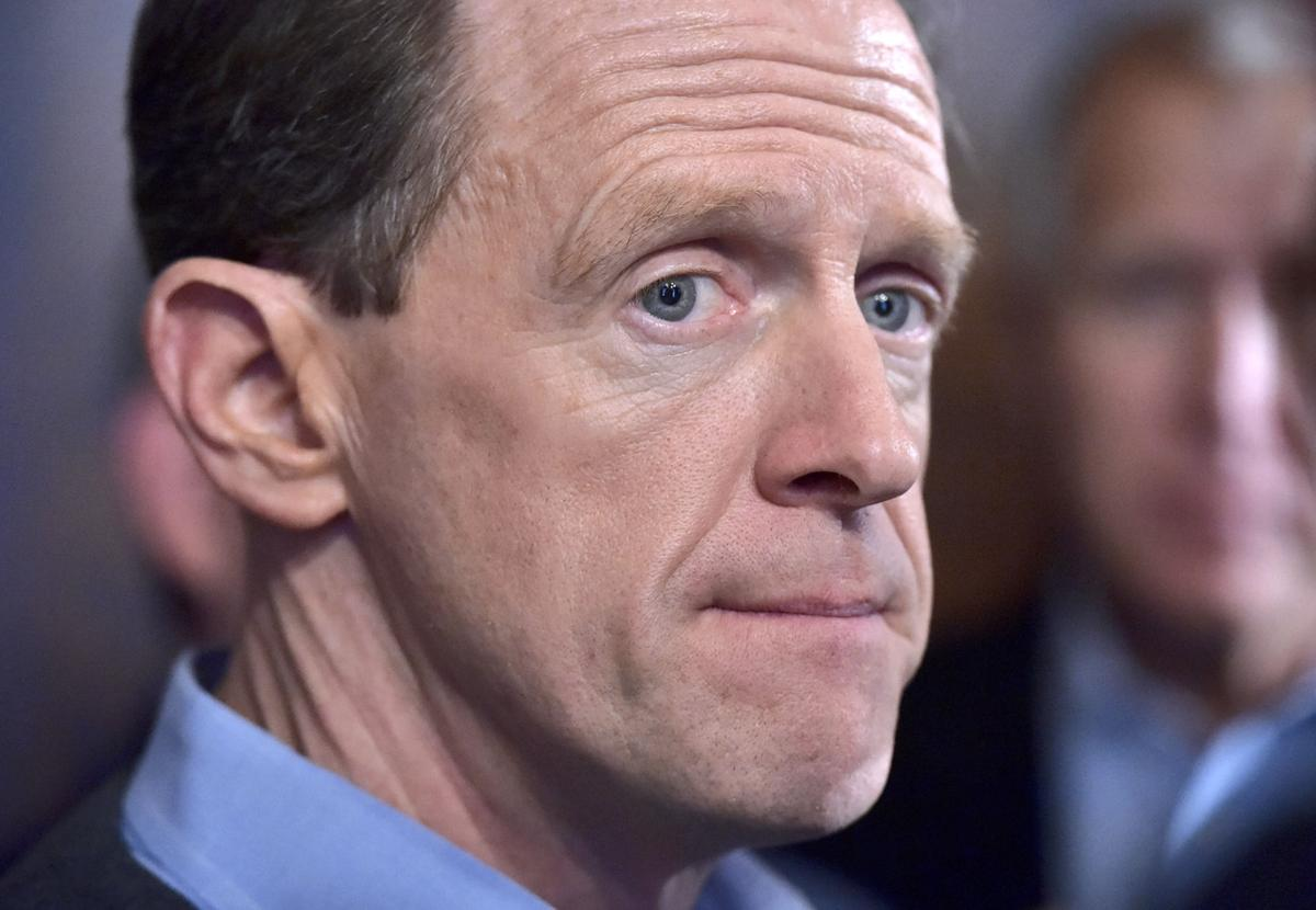 Pat Toomey's campaign calls F&M poll 'worthless' Pennsylvan  #354E96